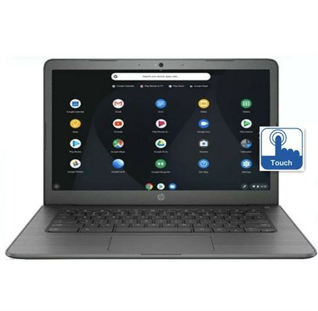 "HP - 14.0"" Chromebook - Intel Celeron - 4GB Memory - 32GB eMMC Flash Memory"